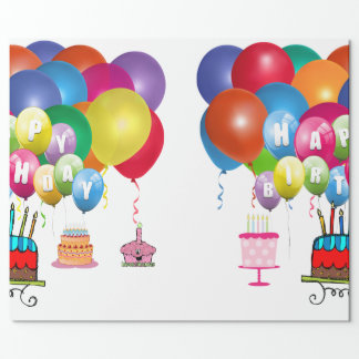 Happy Birthday! Wrapping Paper