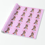 Happy Birthday Yorkie Wrapping Paper
