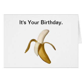 Happy Birthday, You Have Evolved. Card