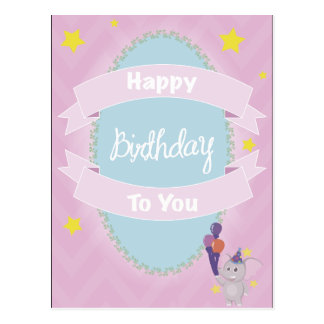 Happy Birthday You the Postal You Card