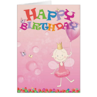 Happy birthdaycard prism card