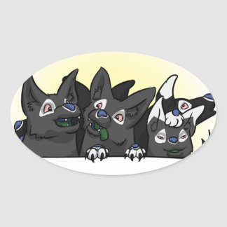 Happy Blitz Pups Sticker