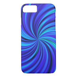 Happy, blue (C) iPhone 7 Case