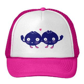 Happy Blueberry BFFs Cap