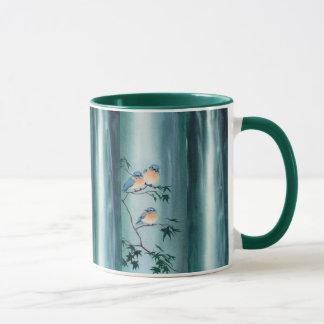 HAPPY BLUEBIRDS by SHARON SHARPE Mug