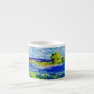 happy bluebonnets espresso mug