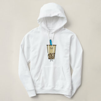 Happy Boba Milk Tea with Pearls Happy Foods Design Tshirts