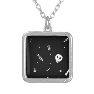 Happy Bones Silver Plated Necklace