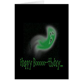 Happy Booooo-thday.... Card