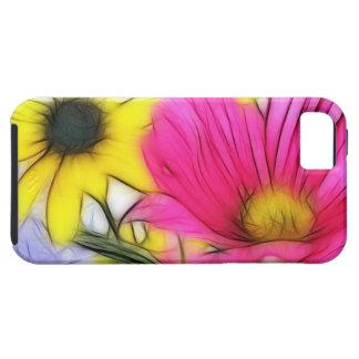Happy Bouquet of Flowers Tough iPhone 5 Case