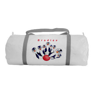 Happy Bowling & Penguinpins by The Happy Juul Comp Gym Bag