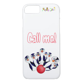 Happy Bowling & Penguinpins by The Happy Juul Comp iPhone 8/7 Case