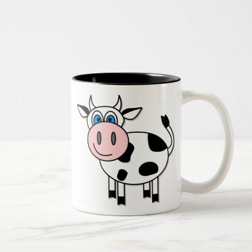 Happy Boy Cow Coffee Mug