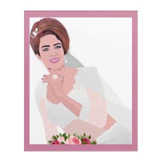 HAPPY BRIDE ACRYLIC PRINT