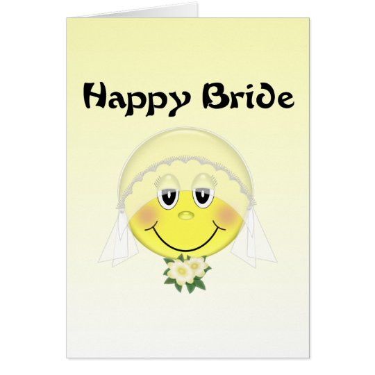 Happy Bride Card