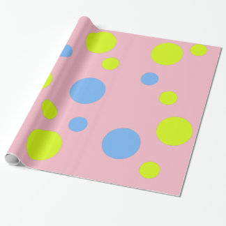 Happy Bubbles Wrapping Paper