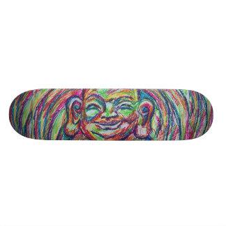 Happy Buddha Board Skateboard