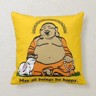 HAPPY BUDDHA CUSHION