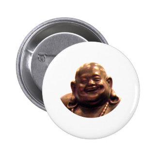 Happy Buddha Shanghai 2002 Circle The MUSEUM Zazz Pinback Buttons