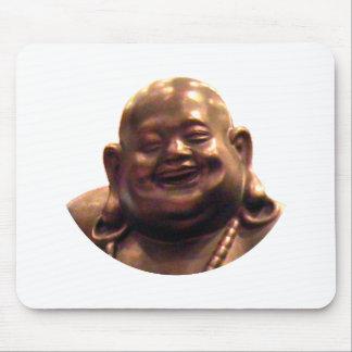 Happy Buddha Shanghai 2002 Circle The MUSEUM Zazz Mouse Pads