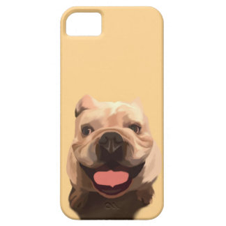 Happy Bulldog iPhone 5 Cover