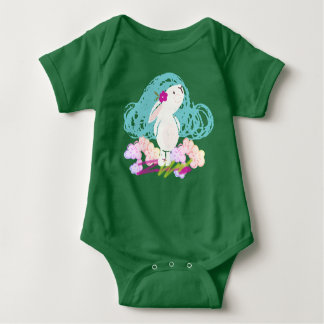 Happy Bunny Day Baby Bodysuit