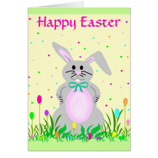 Happy Bunny template card