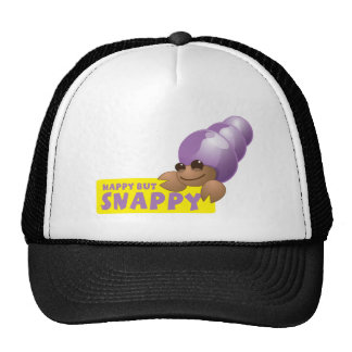 Happy but Snappy little hermit crab Cap