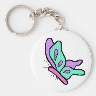 Happy Butterfly key chain