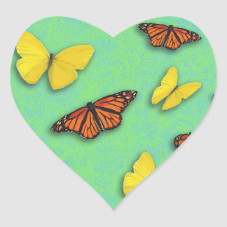 Happy Butterfly Stickers