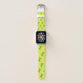 Happy Cacti Apple Watch band