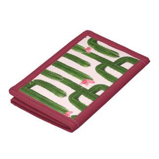 Happy Cacti red wallet