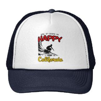 HAPPY CALIFORNIA SURFER 2 Black Cap