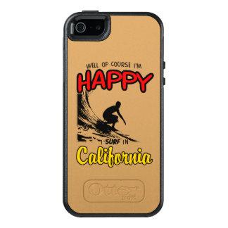 HAPPY CALIFORNIA SURFER 2 Black OtterBox iPhone 5/5s/SE Case
