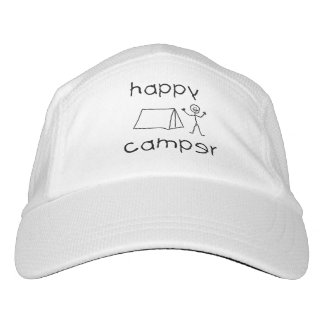 Happy Camper (blk) Hat