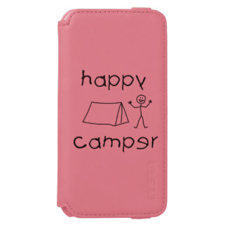 Happy Camper (blk) Incipio Watson™ iPhone 6 Wallet Case