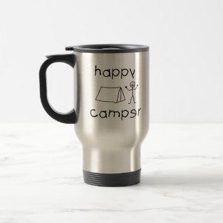 Happy Camper (blk) Travel Mug