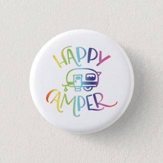 Happy Camper Bright Badge