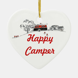 Happy Camper | Camping RV Retired Ceramic Ornament