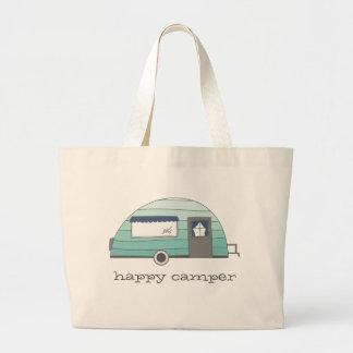 Happy Camper Camping Tote Bag