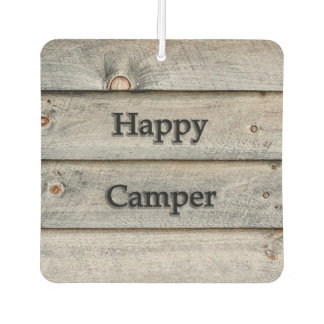 Happy Camper Car Air Freshener