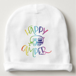 Happy Camper Cute Baby Beanie