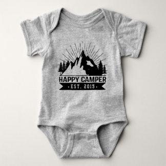 Happy Camper Est Baby Bodysuit