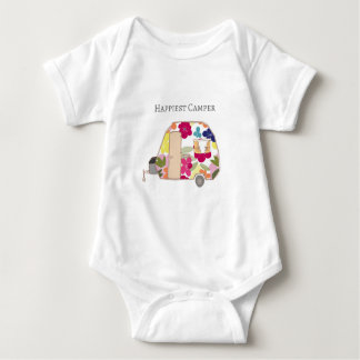 Happy Camper - Happiest Camper Baby Bodysuit