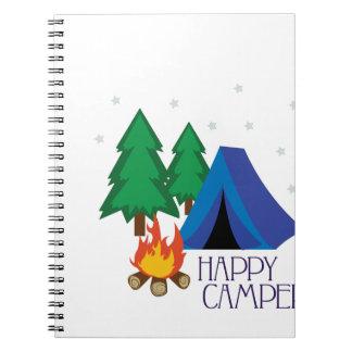 Happy Camper Notebook