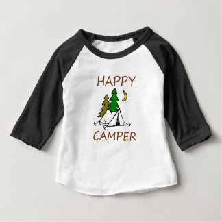 Happy Camper Outdoors Baby T-Shirt