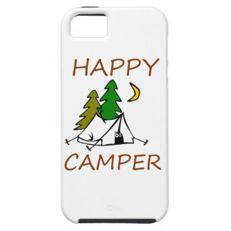 Happy Camper Outdoors iPhone 5 Cases