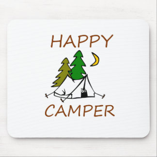 Happy Camper Outdoors Mouse Pad