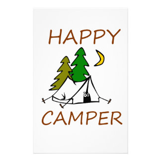 Happy Camper Outdoors Stationery