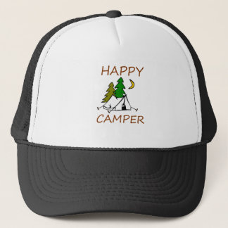 Happy Camper Outdoors Trucker Hat